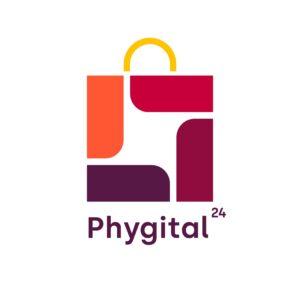 Phygital24 online ordering system logo white