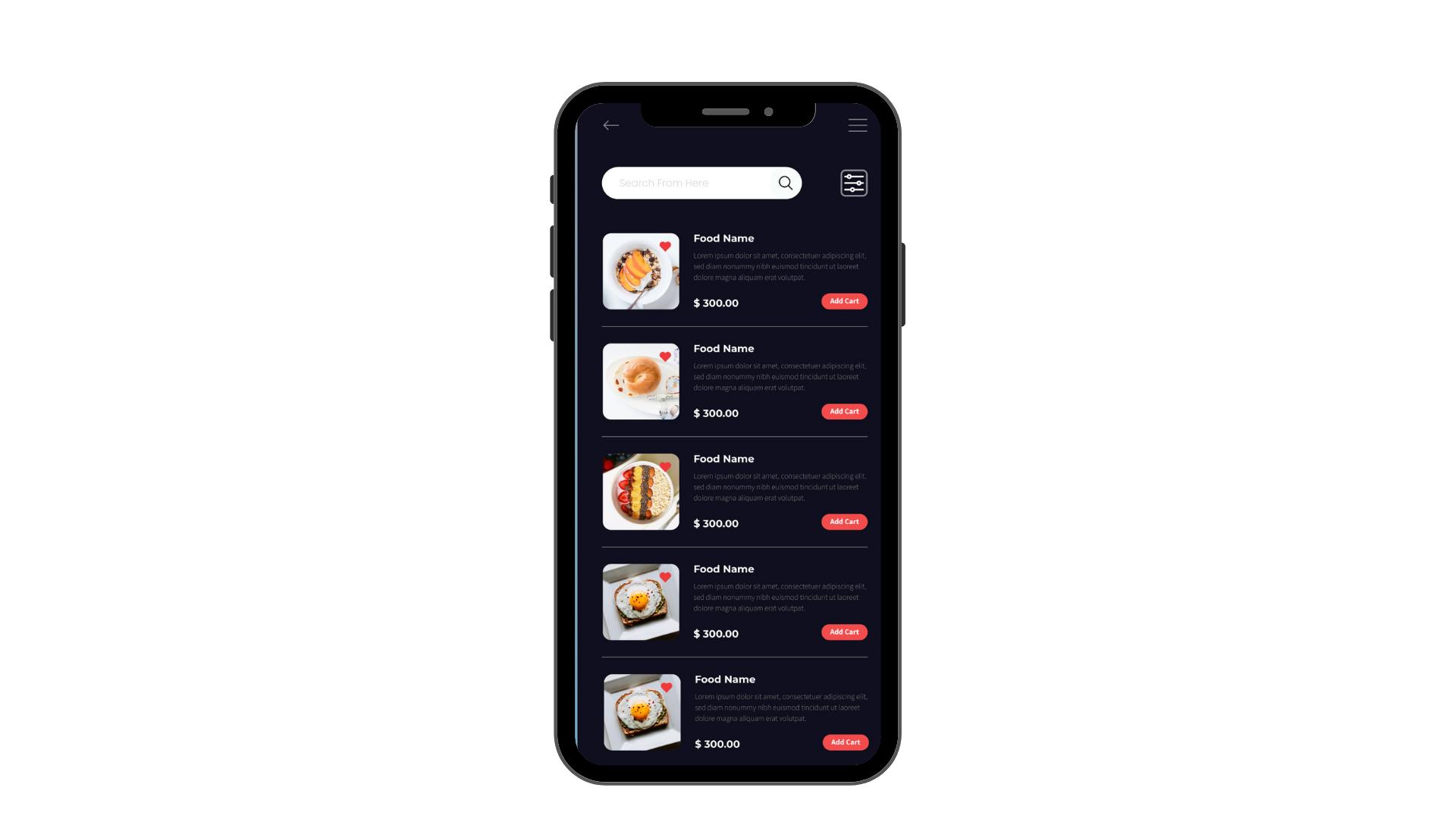 Phygital24 online ordering system restaurant app menu