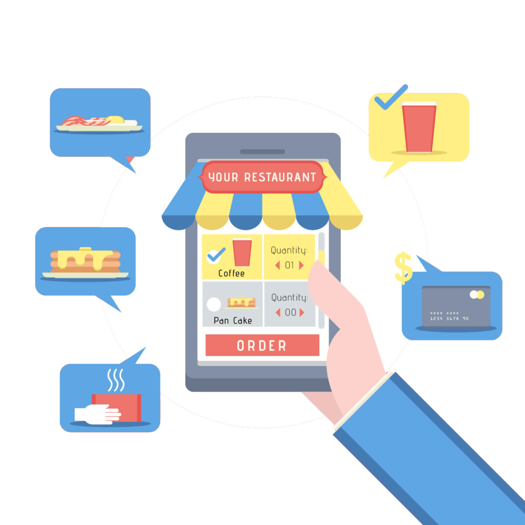 Phygital24 online ordering system mobile icon