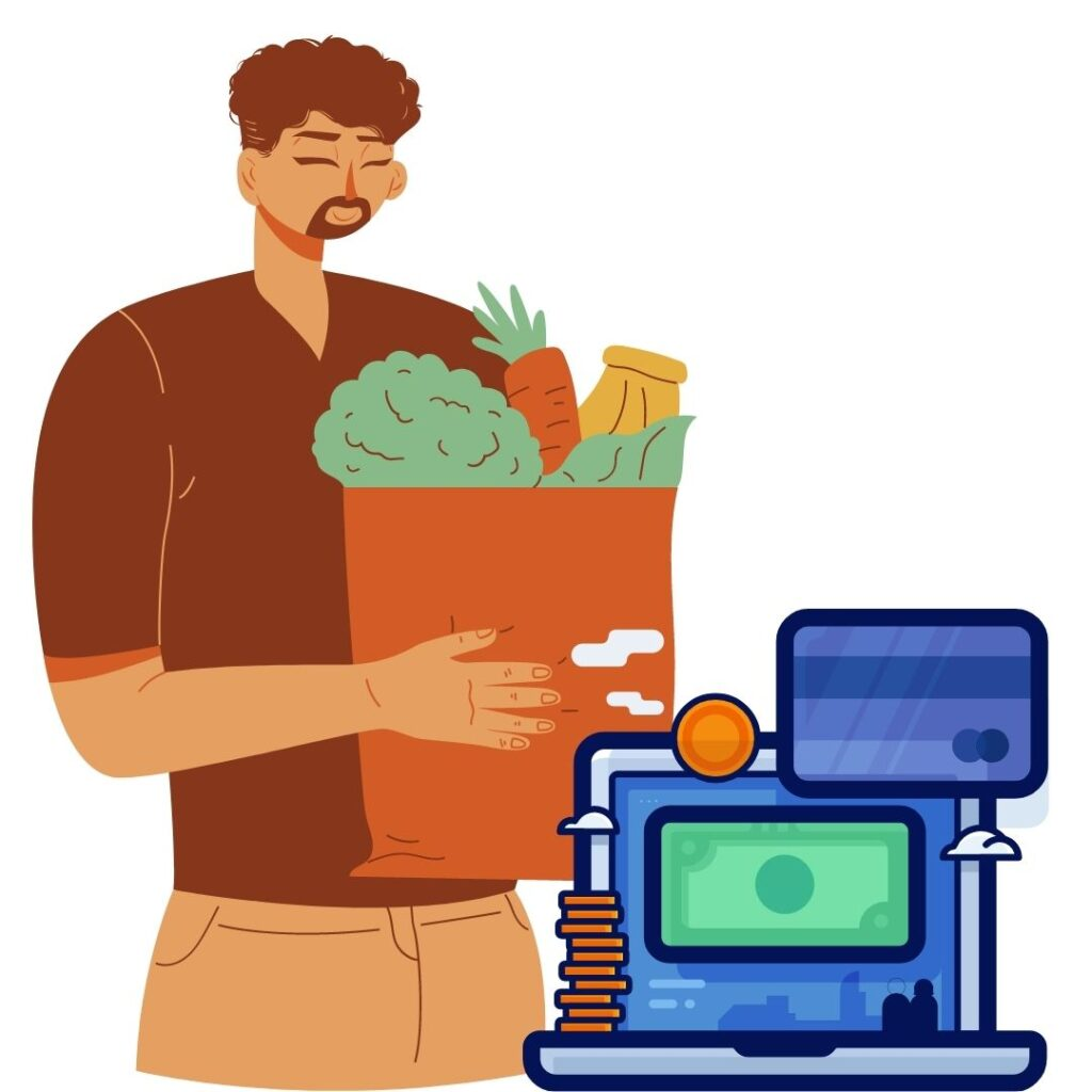 online grocery store payment integrations