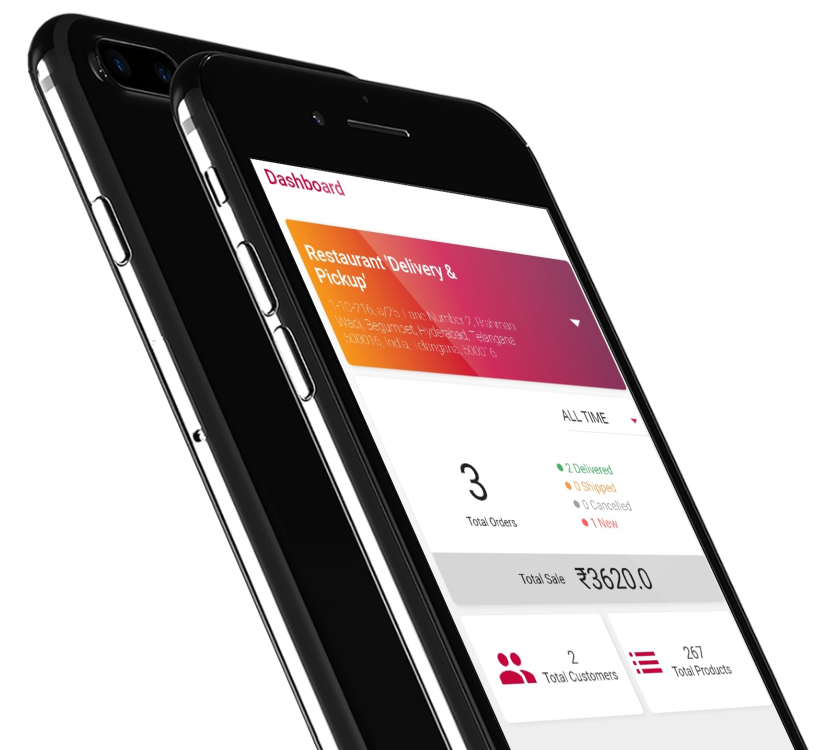 Phygital24 business manager app iphone 7 mockup