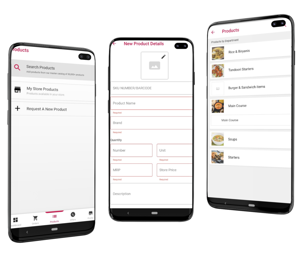 Phygital24 business manager app galaxy s10 mockup