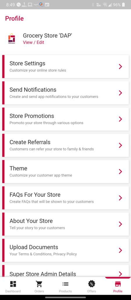 Creating referral