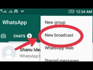 Whatsapp-braodcast